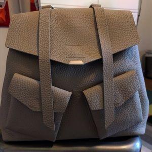 All Saints Captain Lea leather backpack